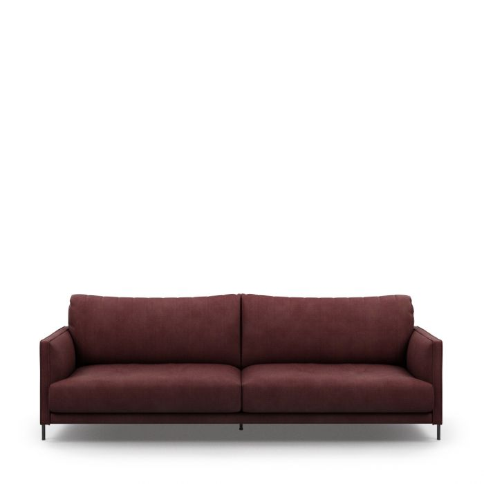 Buy Bal Harbour Sofa 3 5 Seater Celtic Weave Passion Plum Rivièra Maison